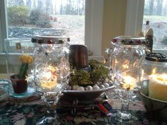 Re-purpose any old jars!