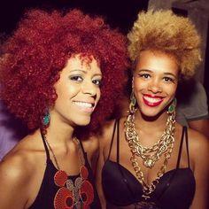 Afro du jour ! #naturalhair #color #afro