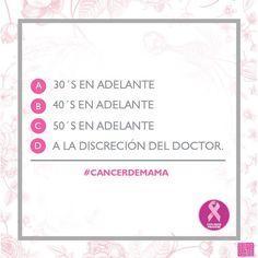 ¿A qué edad es recomendable que las mujeres se realicen una mamografía? #LuchemosJuntas #prevención #OctubreRosa #Liverpool #PinkRibbons