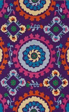 Rugs USA Fergana Soraya Purple Rug.  Area rugs!