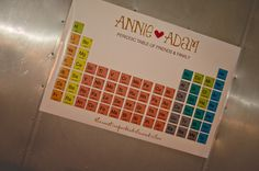 science themed wedding, chemistri theme, idea, scienc theme, inspir, themed weddings, chemistry themed wedding, chemistry wedding, seating charts