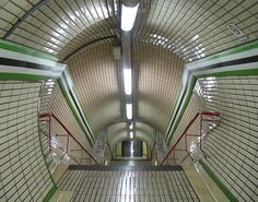 Entering the London Tube