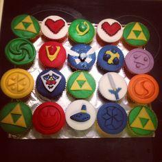 Zelda Cupcakes :)