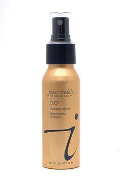 Jane Iredale spray to set makeup