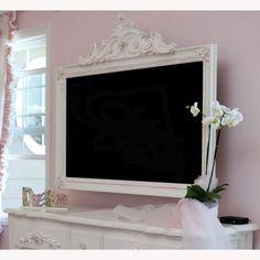 sooooo cute tv frame