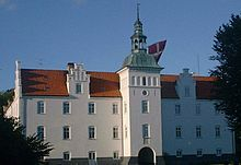 Meilgaard Castle (Danish: Meilgaard Slot, Meilgård) is situated between Fjellerup Strand and Bønnerup Strand, in Djursland, Denmark. The estate known as Medelgård was first mentioned in 1345