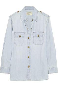 current/elliott chambray shirt