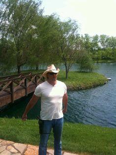 Trace Adkins on his Farm