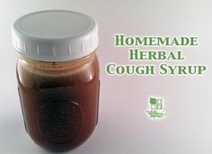 Homemade Herbal Cough Syrup Recipe for natural cough relief Herbal Cough Syrup Recipe