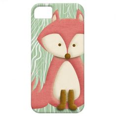 TBA Dec 18 2012: Pink Fox iPhone 5 Case #fox #iphone