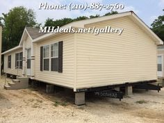 $54,900 http://mhdeals.net/gallery/used-double-wide-mobile-homes/San-Antonio-TX-2012CL32-V (210)-887-2760 Beautiful Double wide home with 3 bedrooms and 2 bathrooms. Home at a cozy 1,344 Square Feet (24 X56). With a open floor plan letting you see all across most of your home. The kitchen sporting a long gorgeous looking bar head. Duel sinks in the master bathrooms and large bedrooms throughout the home. Lots of storage areas and cabinets. LIC# 36155 #sanantonio #greatdeal #bankrepo