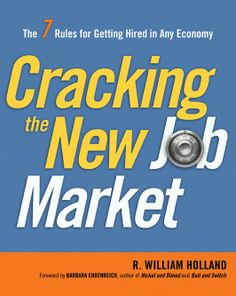 books, human resources, job search, job market, crack, rule, william holland, career resourc, career book