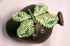 Verde de la mariposa