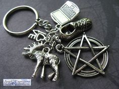 Sam Winchester Defined Keychain V2 by AngelQ on Etsy, $14.95
