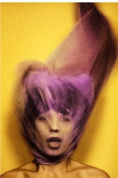 Mick Jagger photographed by  David Bailey for the cover Goats Head Soup (1973).
