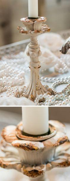 Lovely candle holder #wedding