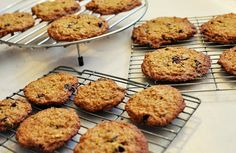 The Coach's Oats Blog: Oatmeal Pistachio Cranberry Cookies