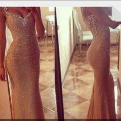 dress nude long prom dresses sequin dress, gold, sparkles, glitter, sleeveless