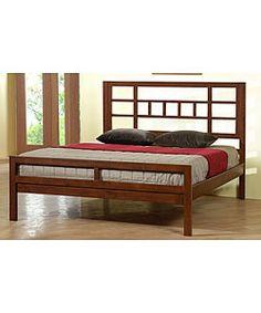 Bello Walnut Cherry Queen-size Bed