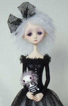 Melanie - Original doll by Ana Salvador #dolls #dollies #artdoll #ooak #handmade