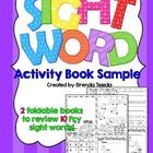 Keep your students excited about learning and practicing their sight words!  **THIS IS A SAMPLE PACK OF MY SIGHT WORD ACTIVITY BOOK SET, WHICH ALSO...