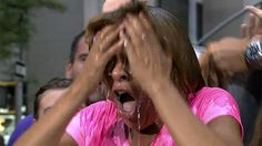 """Watch Hoda get doused for the """"Ice Bucket Challenge"""""""