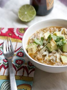 Healthy Chicken Chili with Barley