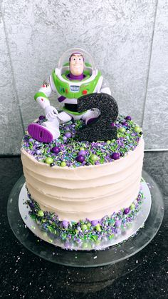 Buzz lightyear cake, toy Story cake