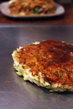TASTE of okonomiyaki at Okonomiyaki Kiraku