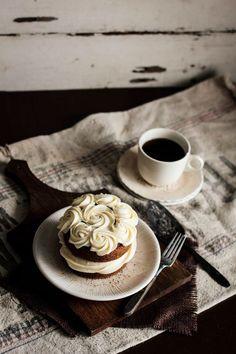 Black Tea Cake with