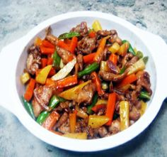 Healthy Chicken With Vegetables Recipe