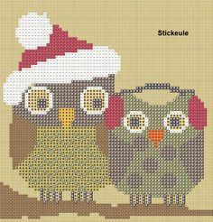 Stickeules Freebies: Owls