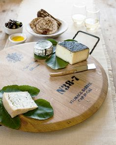 Wine Cask Cheese Tra