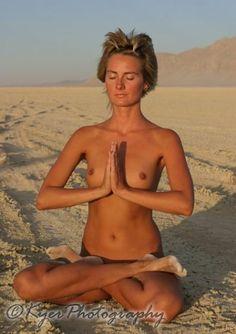 Meditation naked nude