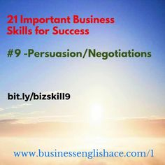#Business Skill #9: