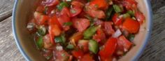 Fresh salsa - great to put on top of anything.