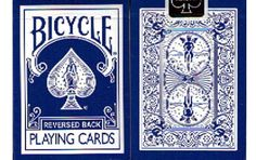 Bicycle Blue Reverse Back Playing cards. #playingcards #poker #games