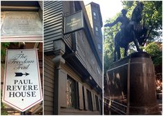 Paul Revere's House on the Boston Freedom Trail
