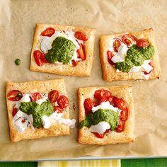 Individual Pesto Tartlets -- perfect for the whole family!