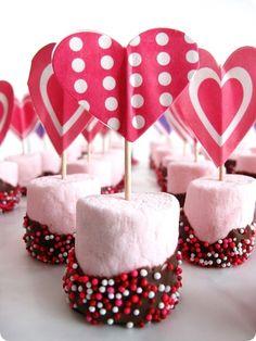 easy valentine snack...yummy