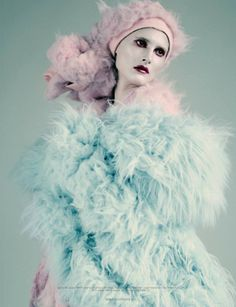 DAZED & CONFUSE MAGAZINE Modern Life is Rubish by Paolo Roversi.