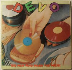1979 DEVO New Wave THE MEN WHO MAKE THE MUSIC LP  record vintage 1970s compilation album cover Australia by Christian Montone, via Flickr