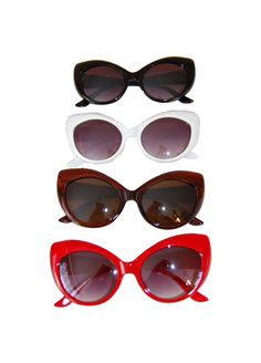 Domino Dollhouse - Plus Size Clothing: Catty Eye Sunglasses