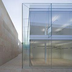 de castilla, glasses, offices, alberto campo, architecture, junta de, glass houses, campo baeza, spain