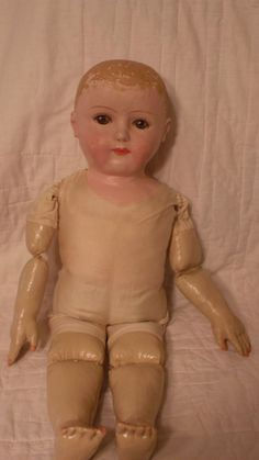 Rare and Large Gertrude Rollinson Cloth Doll