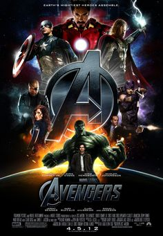 """The Avengers"" Movie Poster by ~themadbutcher on deviantART"