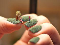 Amazing! Fingernail Lawns — A Tiny World
