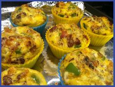 Delicious Paleo & Toddler friendly Sausage & Egg Breakfast Muffins #paleo #eggs #easybreakfast #healthy