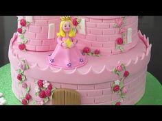 ▶ How To Make A Princess Castle Cake - Part 2 - YouTube