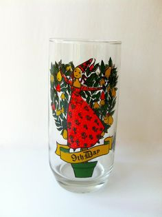 Christmas Glass 9th Day of Christmas by TheDearestDollhouse, $8.00
